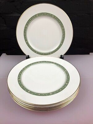 6 X Royal Doulton Rondelay H5004 Dinner Plates 10.75  Last Set Available • 24.99£