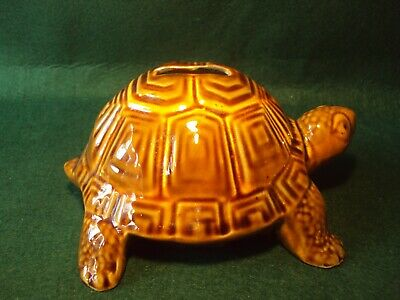Vintage Large Szeiler Pottery Tortoise Money Box - Excellent Condition  • 10£