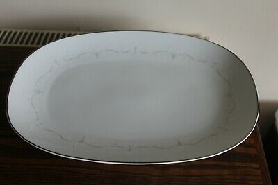 Noritake Whitebrook Pattern Japanese Large Meat Plate, Charger, Service Plate • 17.99£