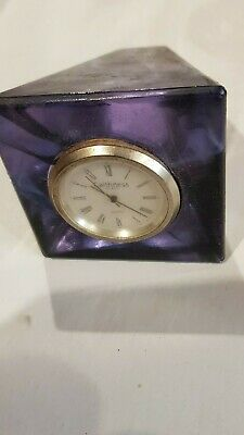 Caithness Glass Small Clock • 27£