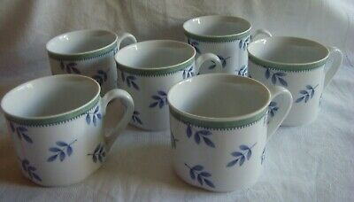 Villeroy & Boch. Gallo Design Switch 3.  6 Coffee (?) Cups • 23£