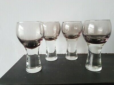 4 X Vintage Caithness Sherry Liqueur Glasses Canisbay - 4 Inches  • 24£