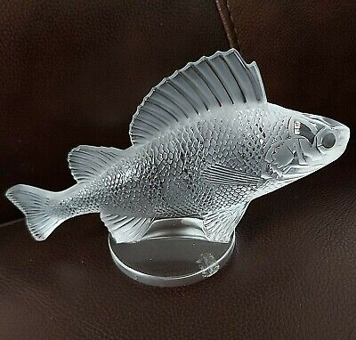 Lalique Perch Car Mascot (or Paperweight) • 235£