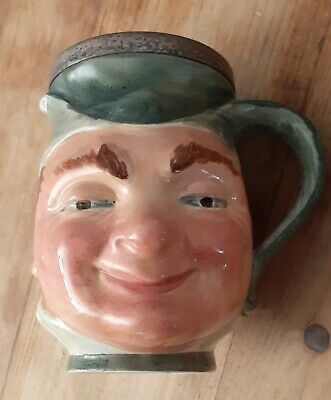 PUCK Character Toby Jug Lancaster Sandland Hand Painted In England  • 15£