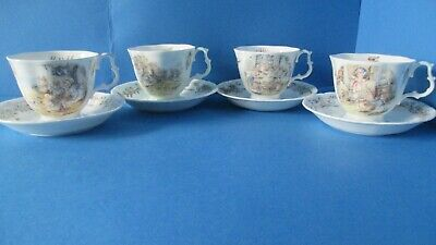 FULL SET OF SEA. STORY Teacups & Saucers 1ST QUALITY • 550£