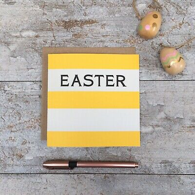 Cornishware Inspired Greeting Card - EASTER • 3£