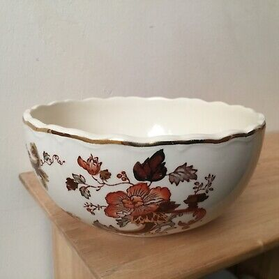 Mason's Brown Velvet Ironstone Bowl, Excellent Condition. • 6.25£