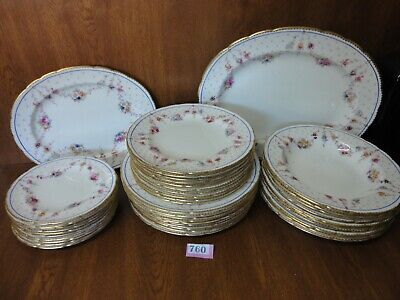 Royal Crown Derby MELROSE - 42 Piece / 10 Place Dinner Service - Not Antoinette • 345£