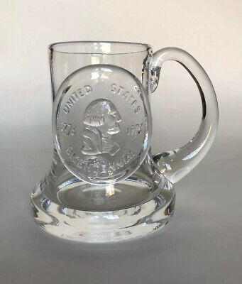 Dartington Crystal Commemorative Tankard - United States Bicentennial • 14.99£