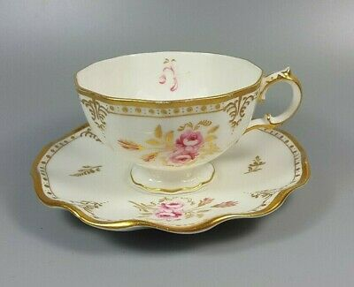 Royal Crown Derby Royal Pinxton Roses A1155 Tea Cup And Saucer • 19.99£