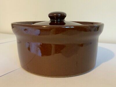 Pearson's Of Chesterfield Individual Casserole Dish Brown • 2.50£