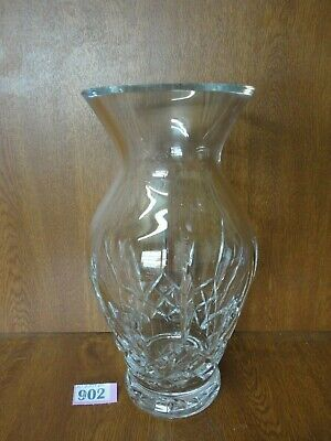 XL Waterford LISMORE Cut Crystal - Large 12 Inch Vase • 44.95£