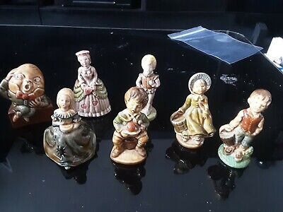 Collection Of 7 Wade Whimsies Miniature Nursery Rhyme Figures • 18£