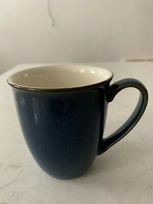 Denby -  Boston (Blue) - Beakers / Mugs X 3 In Excellent Condition • 10.50£