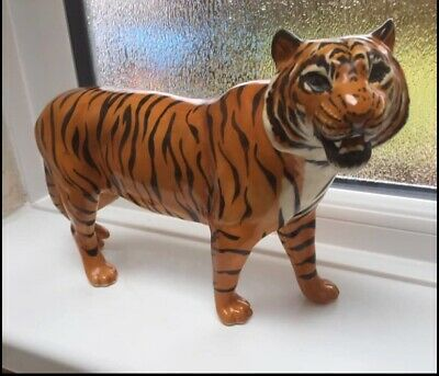 Beswick Bengal Tiger Large 11 Inch Vintage Ornament In VGC • 60£