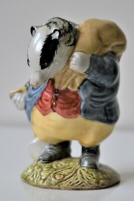Beswick Figurine - Perfect Condition Beatrix Potter's 'TOMMY BROCK' The Badger • 5£