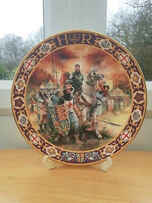 Royal Doulton Kings And Queens Of The Realm King Henry V GC 1993 • 10£
