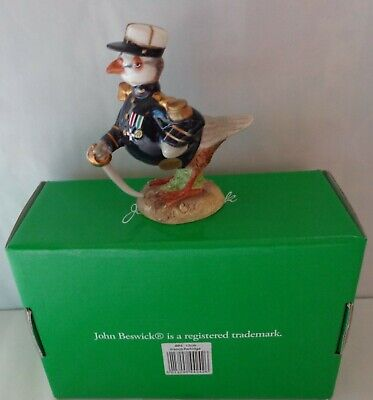 John Beswick Bryn Parry Figure FRENCH PARTRIDGE (The Frenchman) - New And Boxed • 9.99£