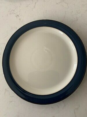 Set Of Eight X 9  Denby Boston Blue Side Plates In Excellent Condition • 10.40£