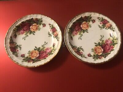 Royal Albert Old Country Roses 2 Pin / Trinket Dishes  • 3£