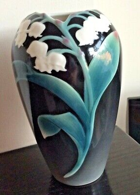 Beautiful Franz Lily Of The Valley Vase, 6 .5 Inches Tall .perfect • 30£