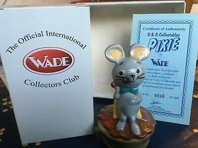 Wade China Huckleberry Hound Pixie Box Cert Exc Cond 880 Of 1500 LE • 10£