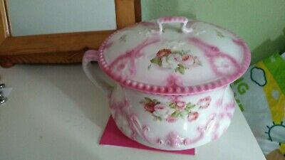J And G Meakin Vintage  Potty  With Lid. • 5£