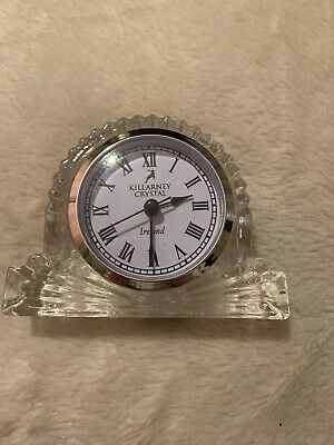 Killarney Crystal Clock • 3.60£
