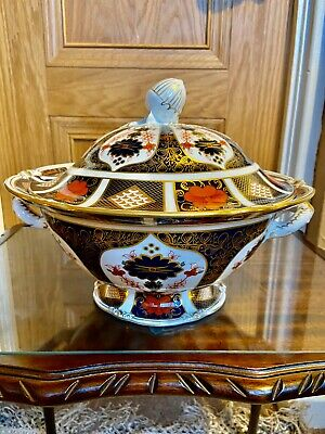 Royal Crown Derby Large Acorn Tureen • 495£