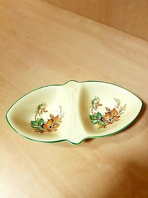 Beswick Vintage 1950s Divided Nuts Nibbles Flowers Trinket Sweet Dish  • 0.99£