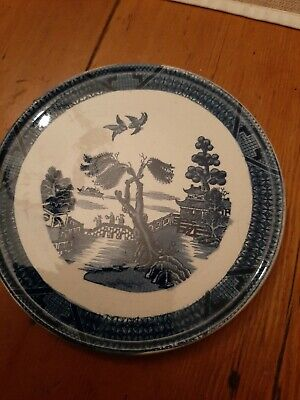 Old Willow Pattern Booths Teapot Stand • 2.75£