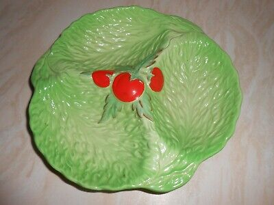 Beswick Ware Lettuce Leaf And Tomato Serving Dish • 3.50£
