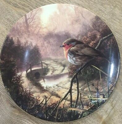 Royal Doulton  Dawn's Bright Herald  By Adrian C. Rigby, Limited Edition Plate,  • 4£