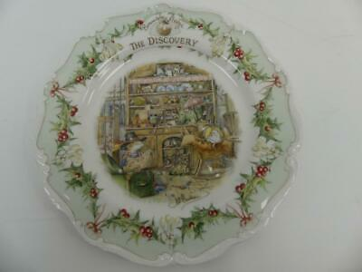 (Ref288BD) Royal Doulton Brambley Hedge Plate 21cm The Discovery • 11.50£