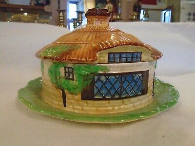 Beswick Ware Presevation Dish - Thatched Roof Cottage For Butter, Cheese Etc. • 25£