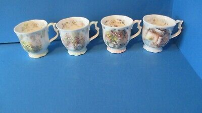 Brambly Hedge SET OF BEAKERS /MUGS  1ST QUALITY • 90£