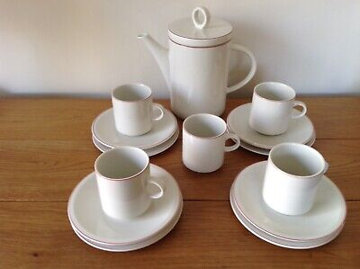 Villeroy & Boch Coffee Set And Plates. • 14£