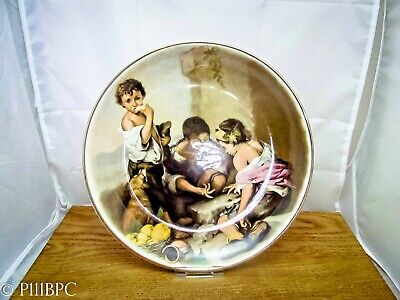 Lord Nelson Pottery Plate Children Playing Dice With Guilding • 19£