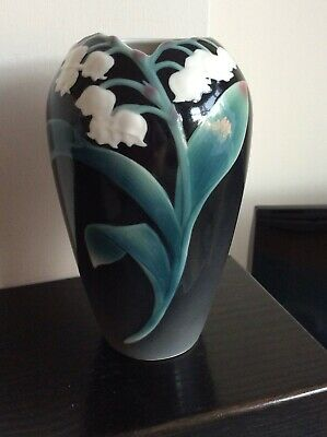 Beautiful Franz Lily Of The Valley Vase, 6 .5 Inches Tall .perfect • 45£