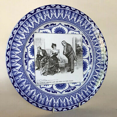 Royal Doulton Gibson Girls Series Ware Plate - Mr Waddles • 29.50£