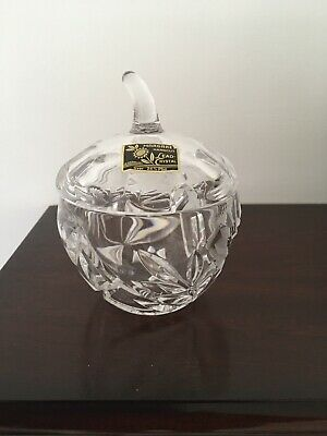 Crystal Jam Pot With Lid And Original Lable  • 4.50£
