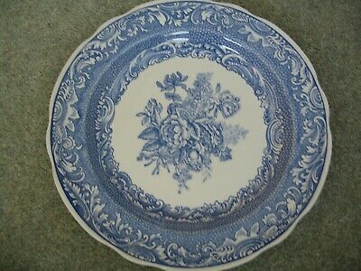 2 Spode Plates - The Spode Blue Room Collection, Byron Groups And Willow • 6£