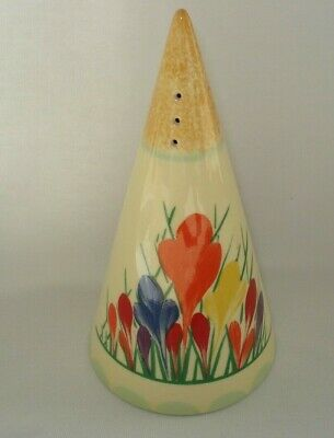 Clarice Cliff Design Art Deco Crocus Conical Sugar Sifter Moorland Chelsea Works • 29.99£