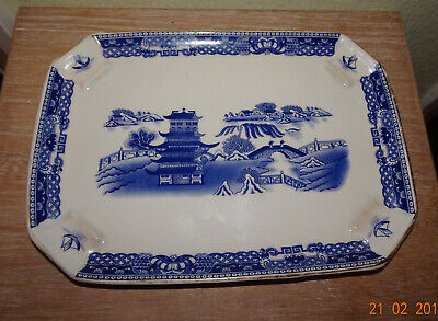 Exclusive Willow Pattern Design Specially Commissioned  By Ringtons LTD  • 4.99£