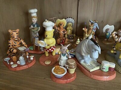Royal Doulton Winnie The Pooh Cooking Collection • 110£