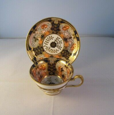 Royal Crown Derby Imari Small Cup And Saucer C.1926 • 85£