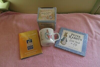 Peter Rabbit Wedgewood Cup, Tale Of Peter Rabbit 100 Years And Guide • 7.28£