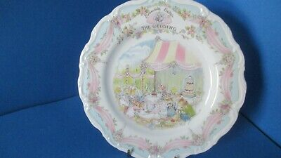 Brambly Hedge Wedding Plate  1st Quality Excellent • 15£