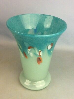 Colourful Strathearn Mixed Colours Vase Ship Worldwide • 74.95£