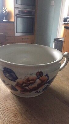 Hancock & Sons Coronaware Kensington Hand Painted Chamber Pot • 20£